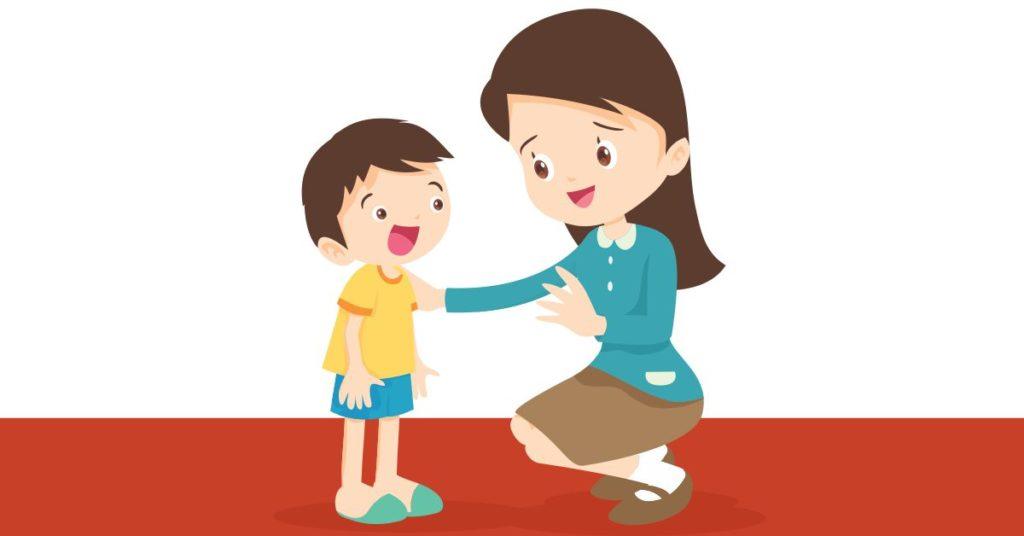 A importância de se colocar na mesma altura das crianças